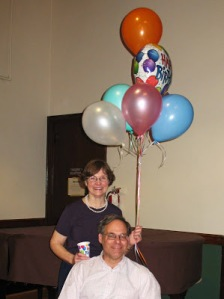 Carolyn Klinger-Williams celebrated both her birthday among friends, and her 21st anniersary of dancing with CDW!!
